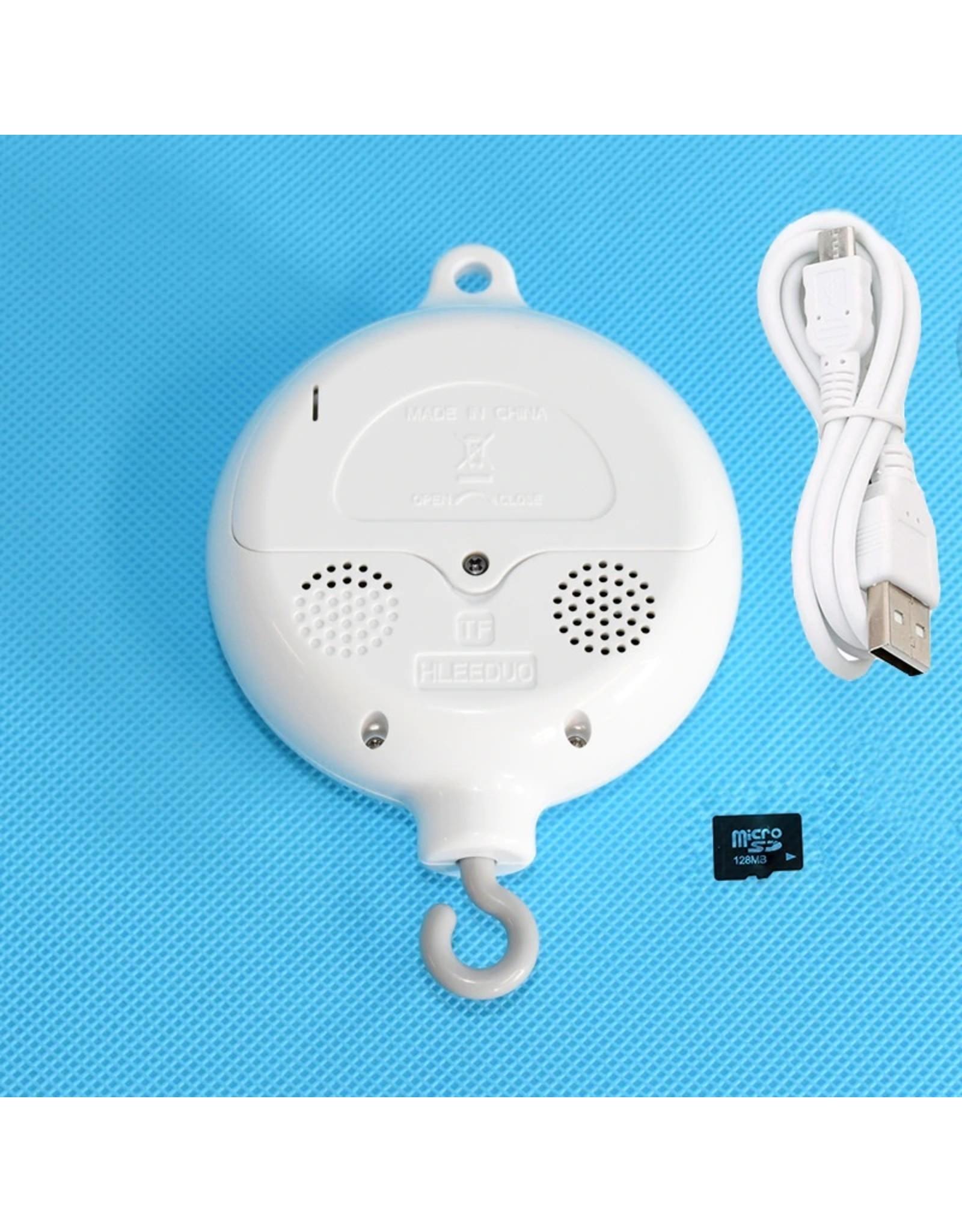 TI283 128 MB USB: (inclusief 1 x ABS Baby Muziek mobiel doosje + USB-oplader + 128 MB-kaart)