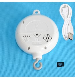 TI282 BT USB: (inclusief 1 x Bluetooth ABS Baby Muziek mobiel doosje + 128 MB kaart)