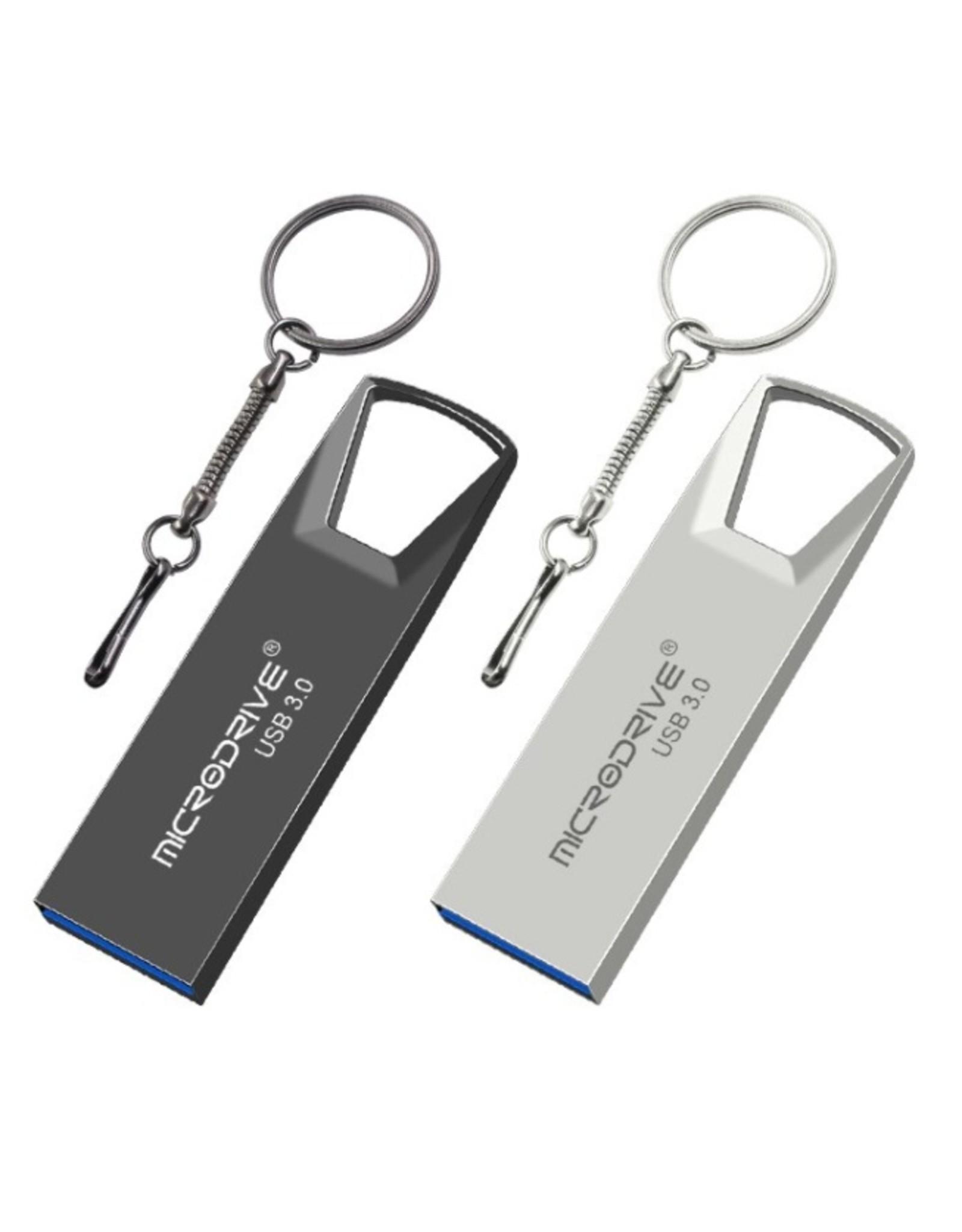 Hoge snelheid USB 3.0 mini-flashdrive Waterdichte USB-flashdrive-geheugensticks-zwart