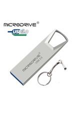 Merkloos Hoge snelheid USB 3.0 mini-flashdrive Waterdichte USB-flashdrive-geheugensticks-grijs