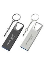 Hoge snelheid USB 3.0 mini-flashdrive Waterdichte USB-flashdrive-geheugensticks-grijs