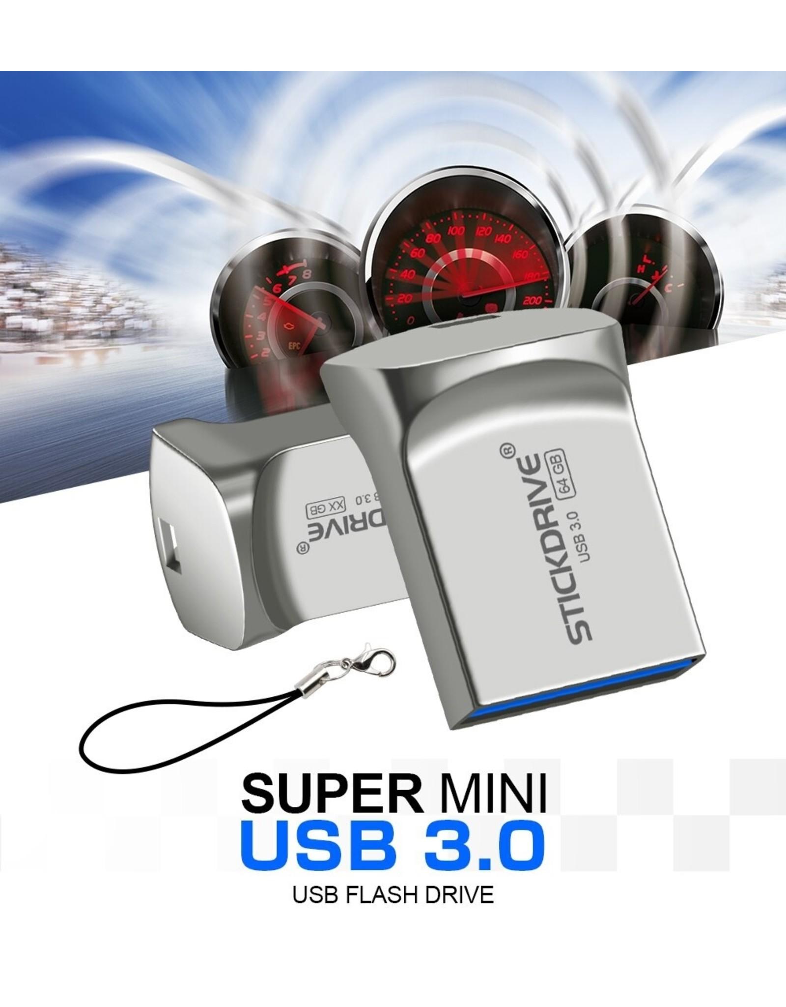 Hoge snelheid USB 3.0 mini-flashdrive Waterdichte USB-flashdrive-geheugensticks