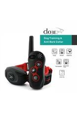 Merkloos Anti Blafband en Trainingshalsband - Trainingsband - oplaadbaar – Stroomband – voor 1 hond