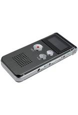 Premium Digitale - Premium Voice Recorder - Multifunctionele Voice Recorder - Dictafoon 16 GB - Audio Memo Recorder Met USB - Spraak Recorder - Sound – Geluid Recorder - Opname Apparaat - Met MP3 Speler Functie – Paars