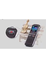 audiorecorder 60m, spraakrecorder 8GB, tijdstempel + spraakgestuurd + wachtwoord digitale recorder