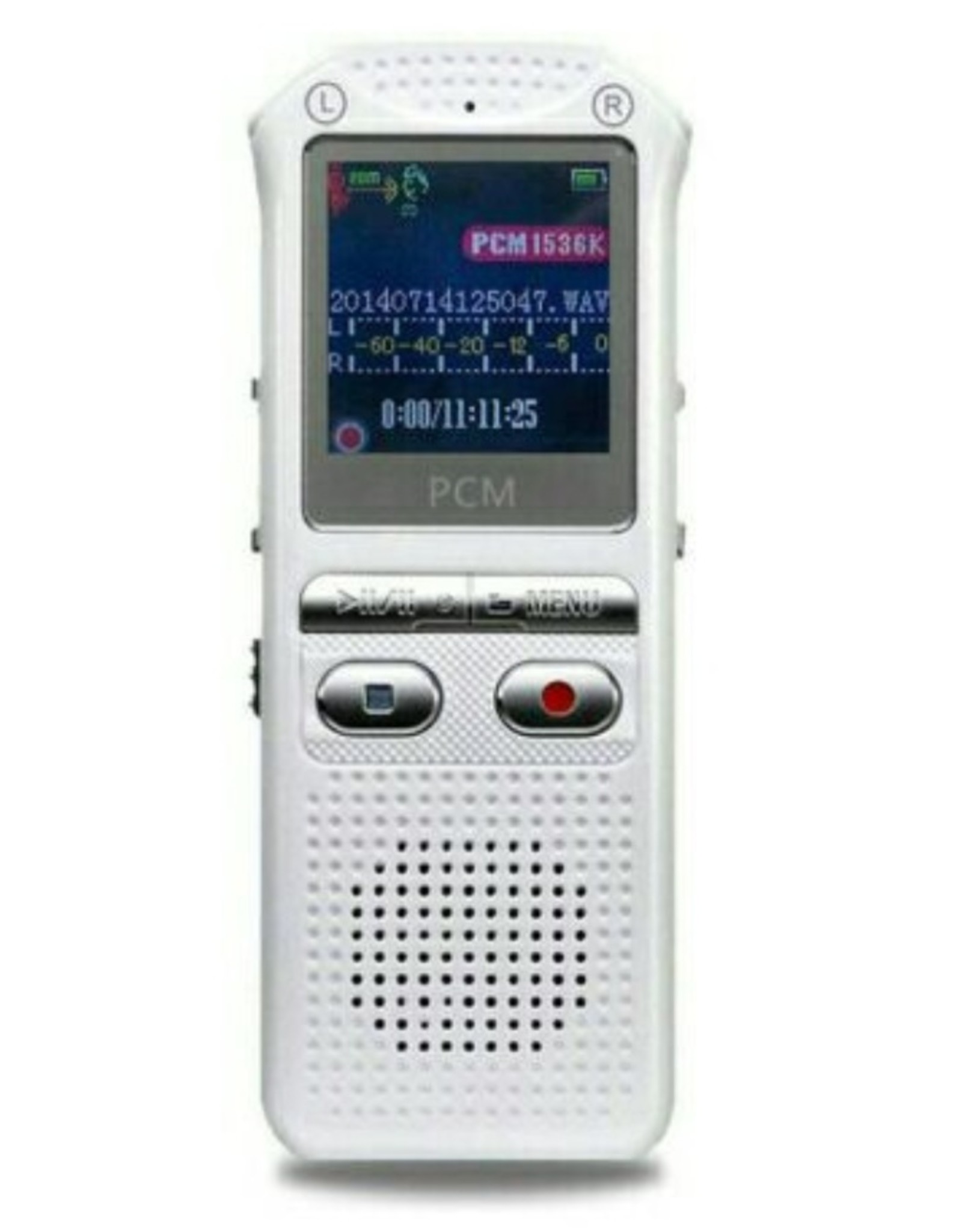 audiorecorder 60m, spraakrecorder 16GB, tijdstempel + spraakgestuurd + wachtwoord digitale recorder