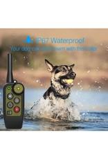 Honden trainingshalsband - elektrische hondentrainingshalsband, Waterdicht, oplaadbaar - 450meter bereik