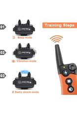 Merkloos Petainer Trainingshalsband - Trainingsband - Petainer 300m oplaadbaar – Stroomband – voor 1 hond