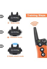 Petainer Trainingshalsband - Trainingsband - Petainer 300m oplaadbaar – Stroomband – voor 1 hond