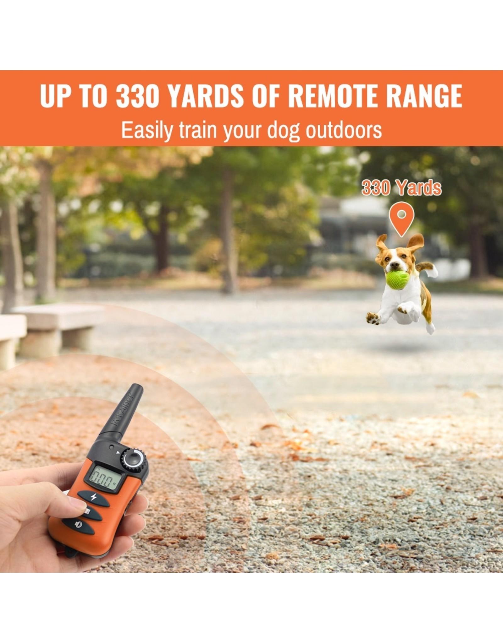 Petainer 620-2 - Trainingshalsband - Trainingsband - oplaadbaar – Stroomband – voor 2 honden
