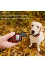 Honden trainingshalsband - Huisdier – Waterdicht - Oplaadbaar - Schokgeluid - Trillingen Antischors 500m Afstandsbediening voor meerdere maten honden