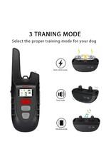 Elektrische hondentrainingshalsband met afstandsbediening voor honden Veilig Geen schokgeluid & trillende blafband Oplaadbaar en waterdicht