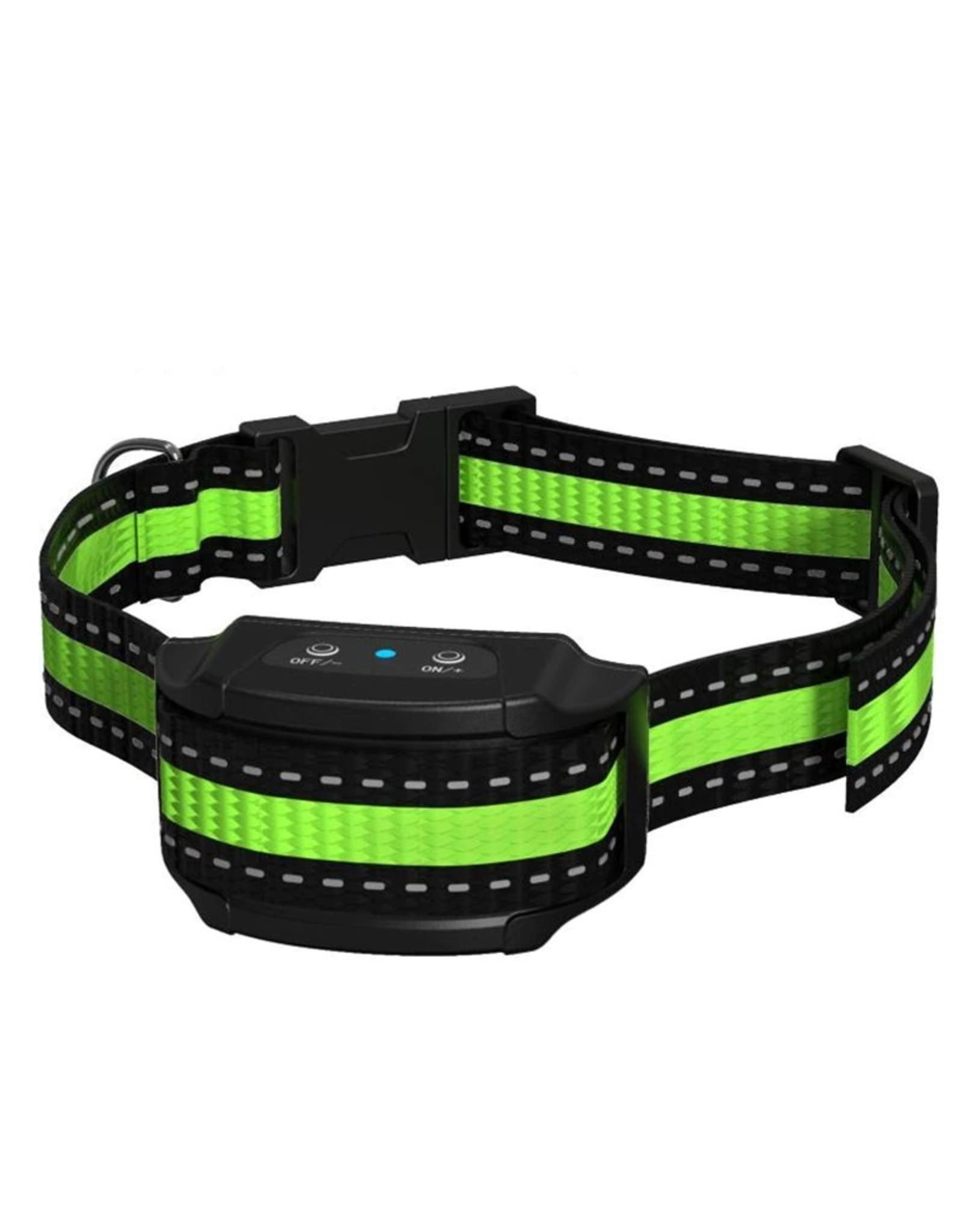 Waterdichte oplaadbare antischors halsband Geen blaffen halsband Elektrische halsband voor hondenversterking Hond Trainingsapparatuur Anti-blaf