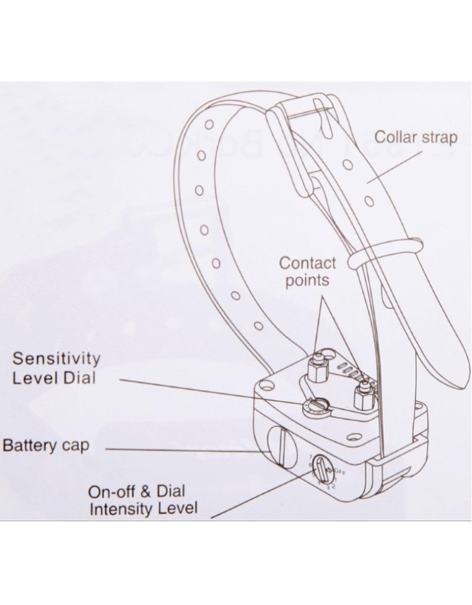 Petainer 851 elektrische anti-blafband voor honden - stopt het blaffen van honden - 7 niveaus van vibrerende hondenhalsband