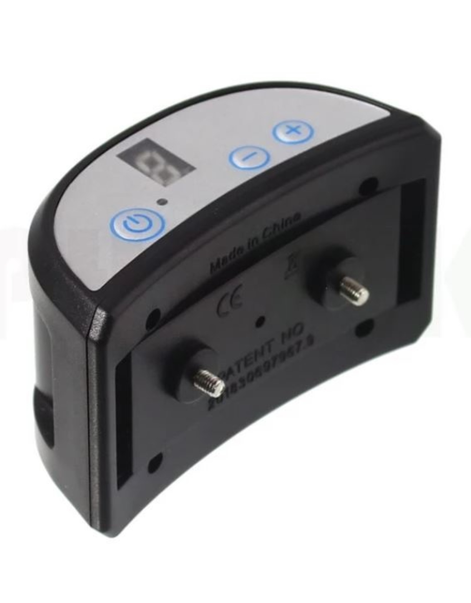 Automatische anti-blafband voor honden - Elektrische schok-, trillings- en geluidssensor, 7 intensiteiten