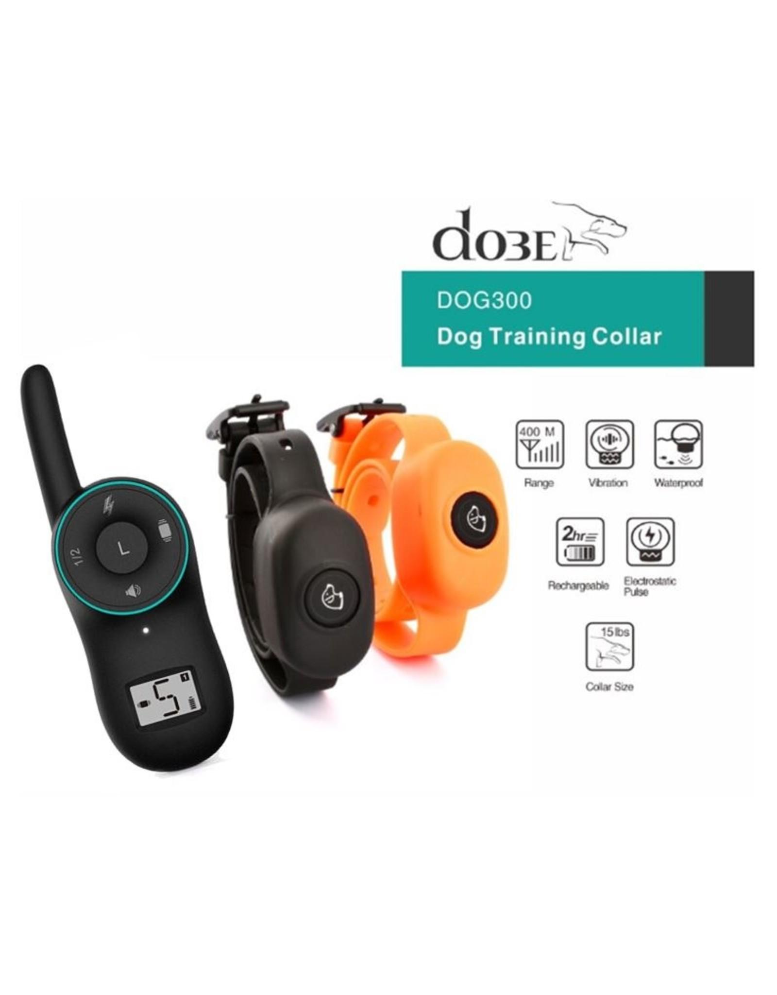 Trainingshalsband - trainingsband voor u hond met afstandsbediening - Waterdicht - Oplaadbaar - Voor 2 honden