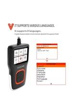 Viecar VP101 Code Reader Lezen / Reset OBD2 Auto Diagnostische Automotive I / M DTC OBDII / EOBD OBD 2 Scanner auto Tool PK CR5001 AS500