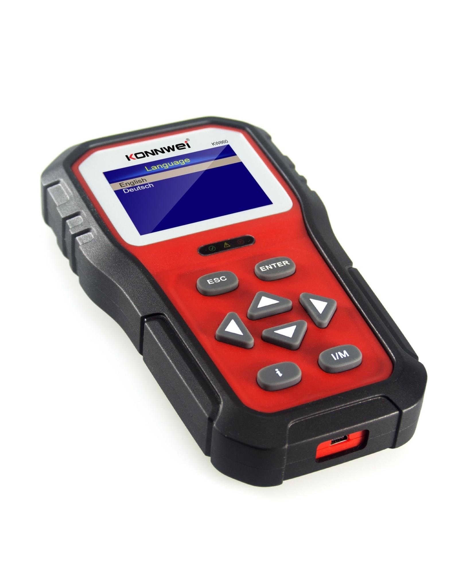 KONNWEI KW860 Automotive Scanner Tools OBD2 Scanner Diagnostisch Tool Scanner Automotor Code Reader OBD2 Volledige Modus