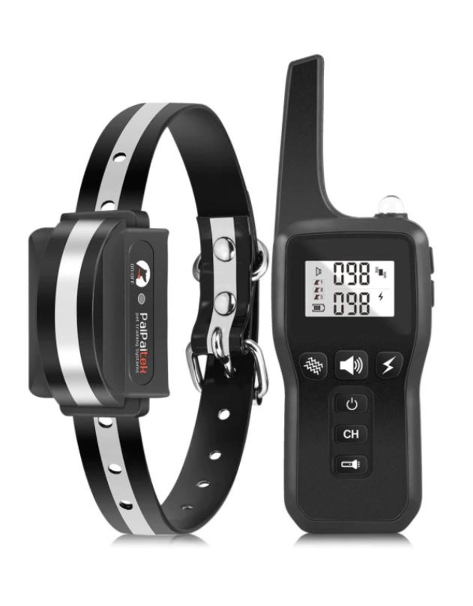 PD529 Elektrische hondentraining halsband 1000m - huisdier afstandsbediening - anti blafschok voor hond - 3 modus met oplaadbare waterdichte ontvanger