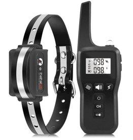 Merkloos PD529 Elektrische hondentraining halsband 1000m - huisdier afstandsbediening - anti blafschok voor hond - 3 modus met oplaadbare waterdichte ontvanger
