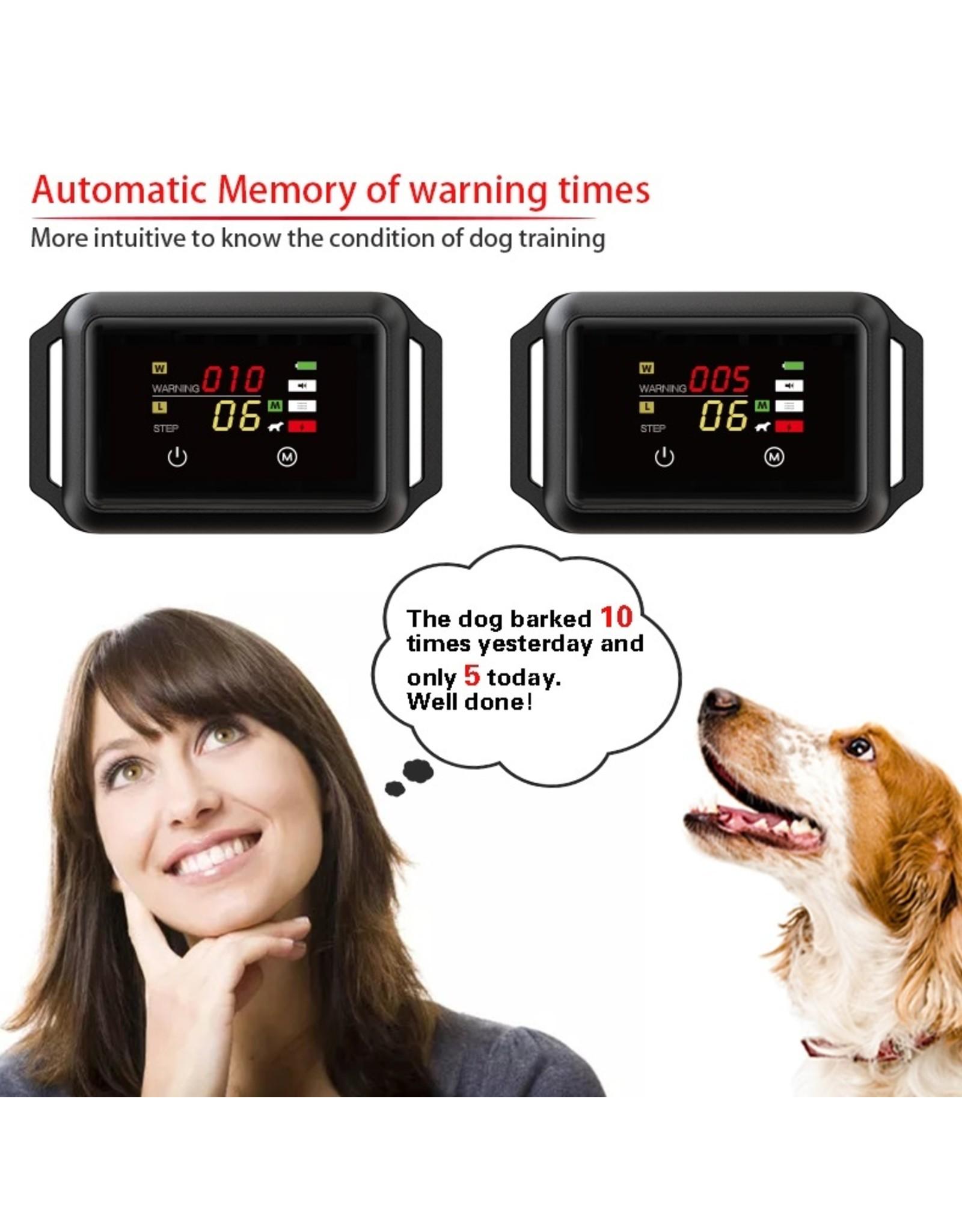 Ultramoderne Automatische Anti-Blafband BOB-800 met touchscreen en data check na gebruik – waterproof