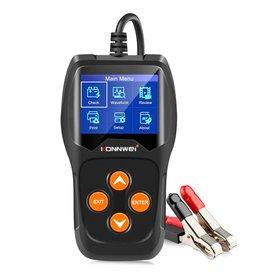 KONNWEI KW600 Professionele Auto Digitale Batterij Tester 100-2000CCA 12 V Auto Batterij Load Analyzer Starten Diagnostisch Tool