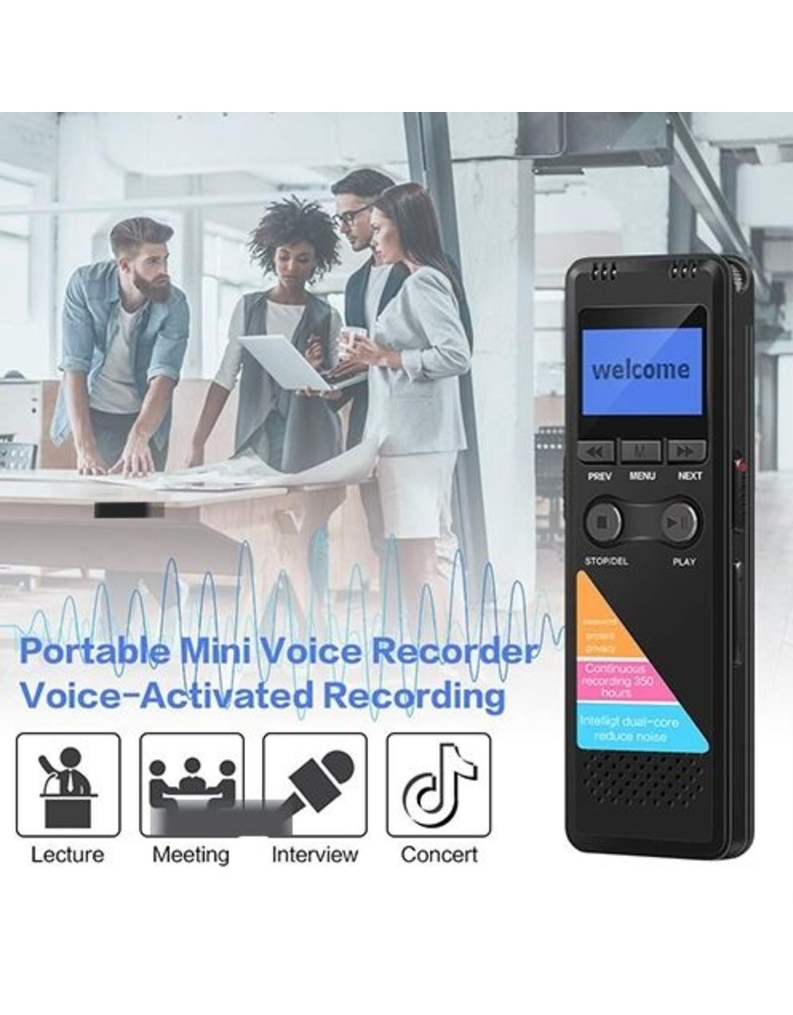 Digitale voice recorder TIG-700– 8GB