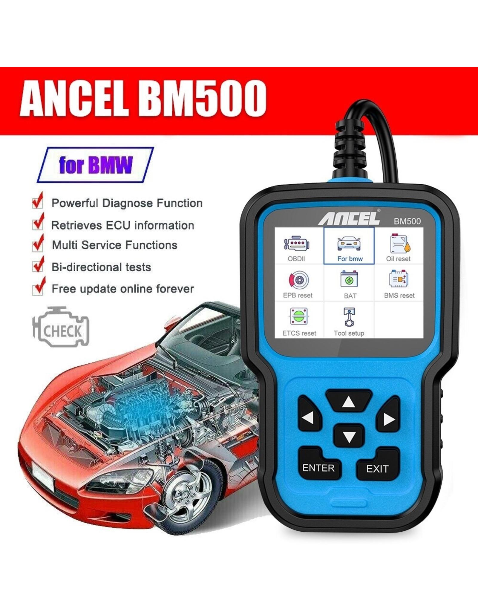 Ancel BM500 OBD2 Code Reader Scanner Professionele ODB2 Volledige Systeem Verbeterde DPF BMS EPB TPMS Reset OBD 2 Automotive Scanner