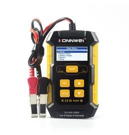 Merkloos KONNWEI KW510 Auto Batterij Analyzer met reparatie- en oplaad- en testfunctie