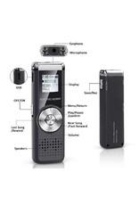 Digital Voice Recorder - TIG-VRD118TIG - 8GB