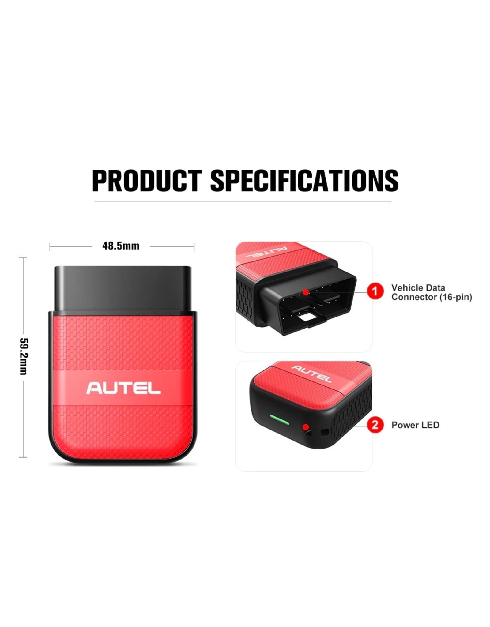 Autel AP200M OBD OBD2 Bluetooth Scanner Auto Diagnostisch Tool OBDII PK Easydiag 3.0 MD802 AP200 obd 2 diagnostisch