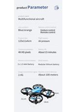 V8 Mini Drone 4K 1080P HD Camera WiFi Fpv Luchtdruk Houd Hoogte Zwart Quadcopter RC Drone