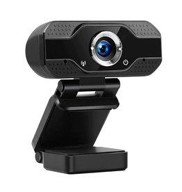 Merkloos Webcam 1080P USB Computer Webcam Conferentie Video Online voor Laptops, Desktop Web Cam Online Onderwijs Webcam met Microfoon