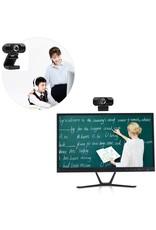 Webcam 1080P USB Computer Webcam Conferentie Video Online voor Laptops, Desktop Web Cam Online Onderwijs Webcam met Microfoon