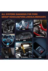 ANCEL FD700 OBD2 Auto Scanner Volledige Systeem Scan voor Ford Auto Scanner EPB BMS ETC Olie Reset meertalige auto Diagnostic Tool