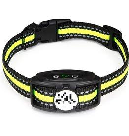 Premium Anti Blafband - Correctie halsband - Diervriendelijke Opvoedingshalsband Zonder Schok - Trainingshalsband Voor Grote en Kleine Honden - Anti blaf band