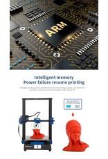 Tronxy XY-3 Pro 3D-printer Ultrastil moederbord Titan Extruder Snelle montage Automatische nivellering Hervat afdrukken 3D-kits 300x300x400mm Compatibel met PLA ABS PETG WOOD TPU.