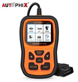 Autophix Om126P OBD2 Scanner Volledige OBD 2 Diagnostisch Tool Engine Analyzer voor EOBD JOBD OBD II Automotive Scanner Gratis Update