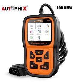 Merkloos Autophix 5900 Professionele Obd 2 Auto Diagnostisch Tool EPB ETC BMS Reset Meertalige Code Reader Obd2 Automotive Scanner Voor BMW