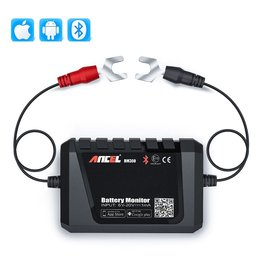 Merkloos ANCEL BM300 Auto Batterij Tester Auto 12V Auto Batterij Analyzer Android IOS Circuit Elektrisch Systeem OBD2 Scanner Batterij Tester