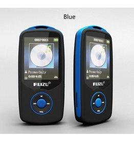 RUIZU X06 mp3-speler met bluetooth, mp3-muziekspeler met FM-radio, 100 uur afspelen en 32 GB uitbreidbaar