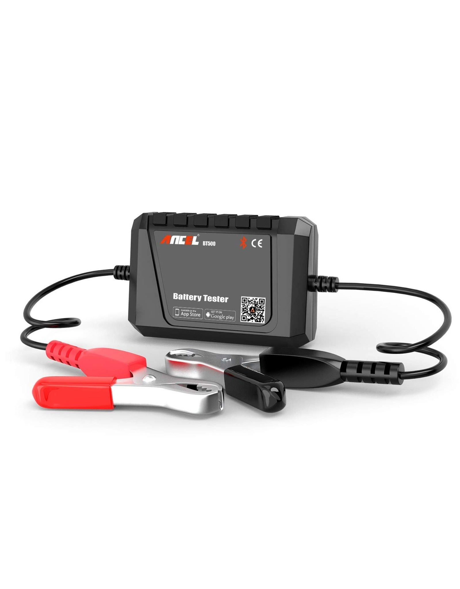 ANCEL BT500 Auto Batterij Tester Bluetooth 12V Auto Elektrische Circuit Zwengelbelasting Test Analyzer Opladen Tester Voor Android/IOS