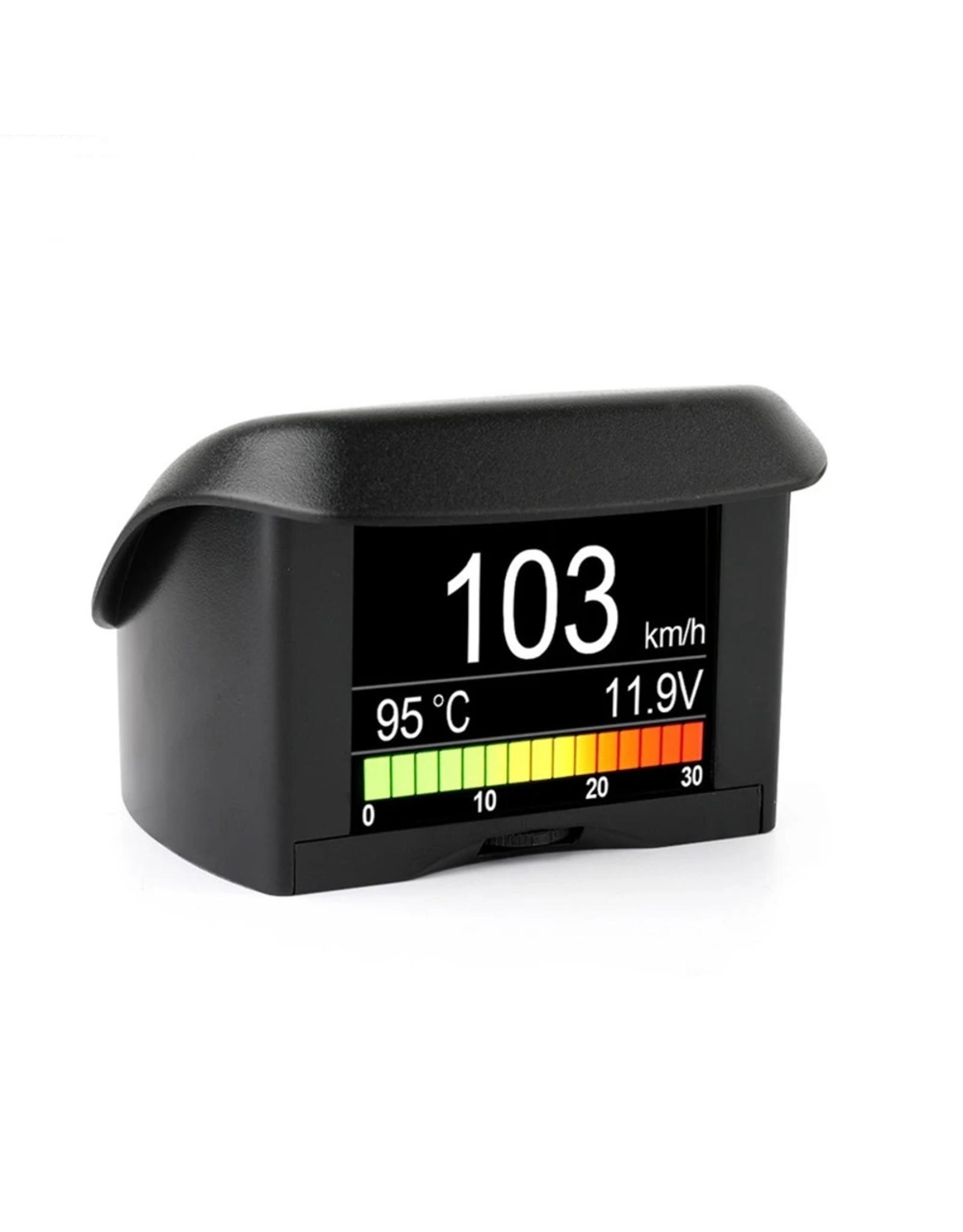 Auto Boordcomputer ANCEL A202 Auto Digitale OBD Computer Display Snelheidsmeter Brandstofverbruik meter Temperatuurmeter