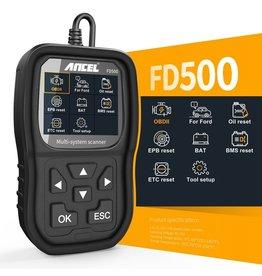 ANCEL FD500 OBD2 Scanner Automotive Scanner Volledig systeem ---- Voor ford: