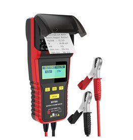 ANCEL BST500 12V Auto Batterij Tester 24V Truck Batterij Scanner Met Thermische Printer Ondersteuning Meerdere Rating Batterij Analyzer