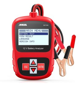Merkloos Ancel BST200 Auto Batterij Tester Multi Talen 12V 1100CCA Batterij Analyzer Automotive Scanner Auto Diagnostic Tool Gratis Update