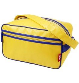 Merkloos CabinMax Arezzo– Handbagage 14l – Schoudertas - Compact Reistas - Lichtgewicht – Geel