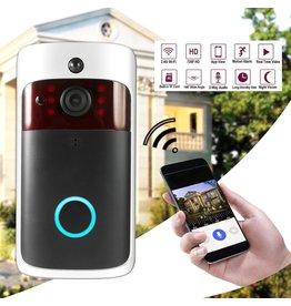 Merkloos Slimme draadloze wifi-beveiligingsdeurbel Slimme videodeurtelefoon Visuele opname Laag stroomverbruik Remote Home Monitoring