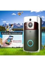 Slimme draadloze wifi-beveiligingsdeurbel Slimme videodeurtelefoon Visuele opname Laag stroomverbruik Remote Home Monitoring