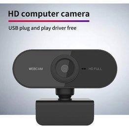 HD 1080P Webcam Mini Computer PC WebCamera met Microfoon Draaibare camera's voor: